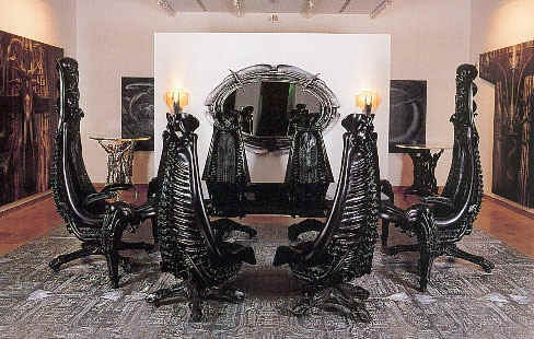 "The official WebSite of H.R.Giger-Exhibitions ""Furniture from the ... 