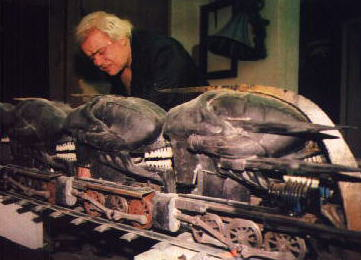 The official WebSite of H.R.Giger-Ghost Train Nightmare