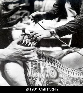 debbie2 Debbie Harry with H.R. Giger