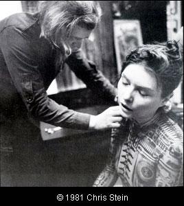 debbie3 Debbie Harry with H.R. Giger