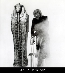 debbie4 Debbie Harry with H.R. Giger