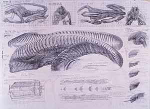 LITHOGRAPH by H.R. Giger