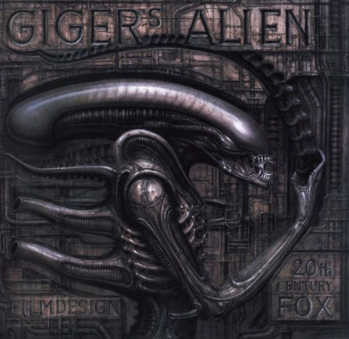 Alien artwork by H R Giger